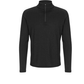 super.natural Base 175 1/4 Zip Shirt Men jet black